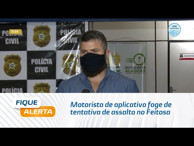 Motorista de aplicativo foge de tentativa de assalto no bairro do Feitosa