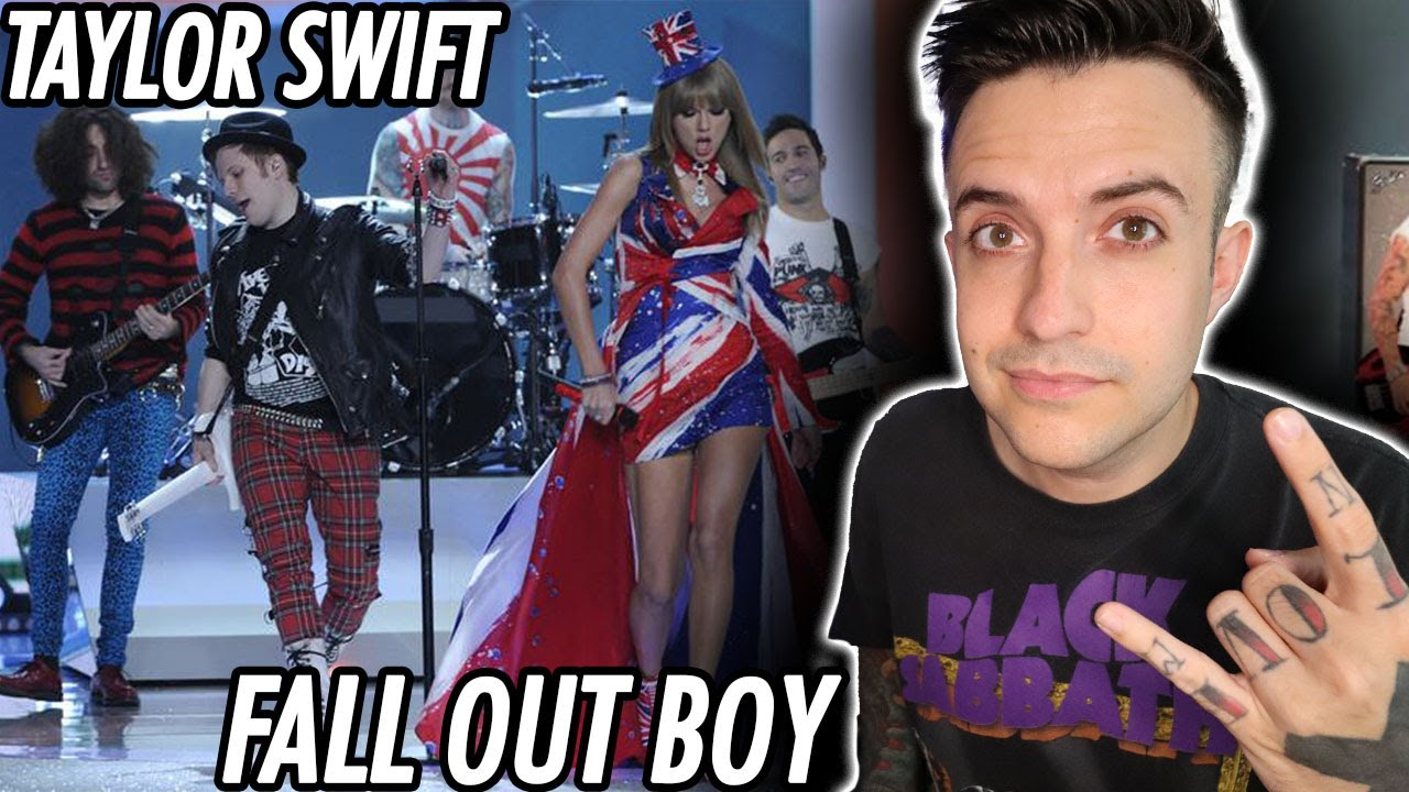 Taylor Swift & Fall Out Boy - My Songs Know What You Did Live Reaction
