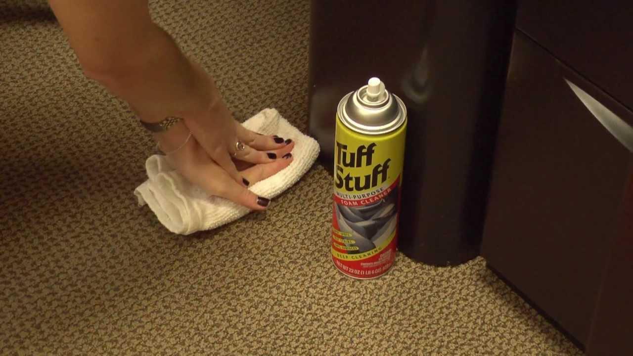 tuff stuff multi purpose foam cleaner youtube