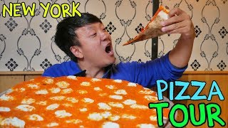 BEST Pizzas in New York! New York Pizza Tour of Manhattan Video