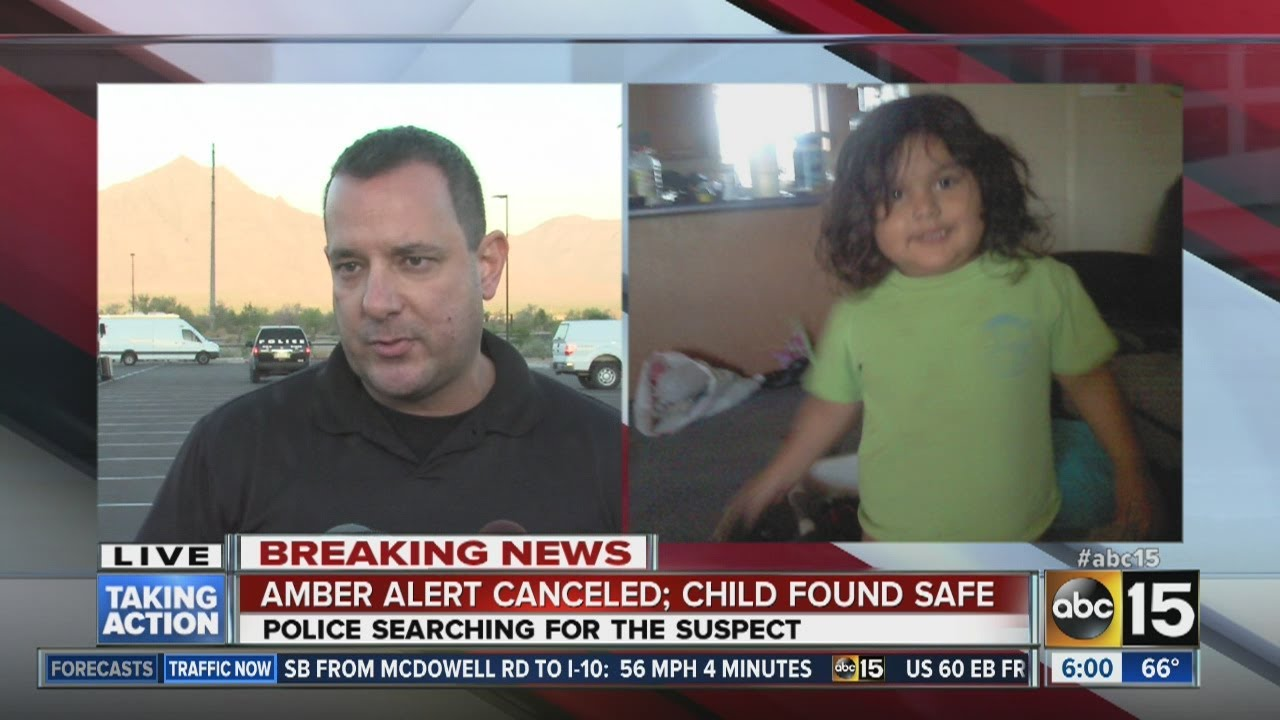 Amber Alert canceled; children found safe
