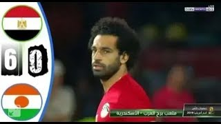 أهداف مباراة مصر و نيجيريا تألق محمد صلاح🔥🔥 تصفيات كأس أمم أفريقيا 2019