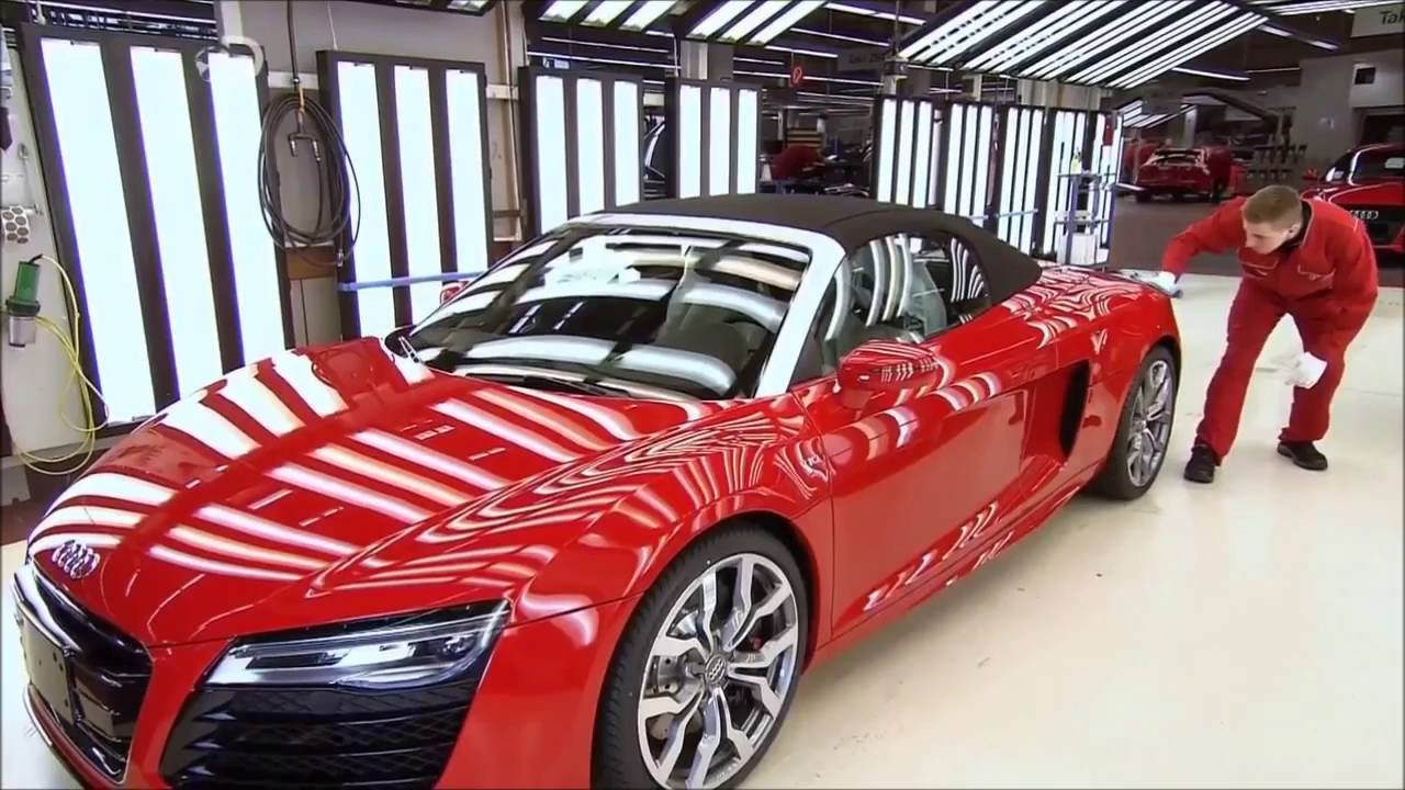 Reportage/Documentaire Audi R8 v8 v10 Fr