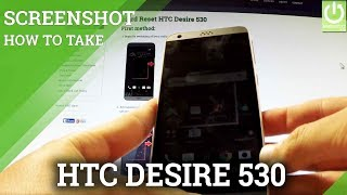 How to Take Screenshot on HTC Desire 530 - Edit / Delete Screenshots