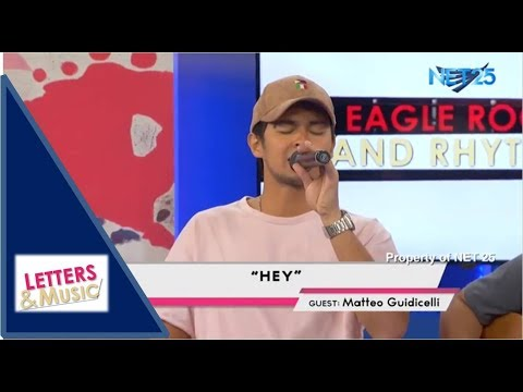 MATTEO GUIDICELLI - HEY (NET25 LETTERS AND MUSIC)