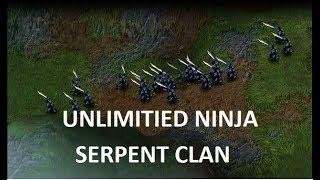 Battle Realms - Unlimitied Fast Ninja & Yin (SERPENT CLAN)