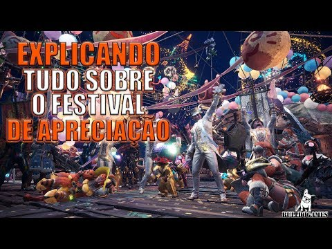 Monster Hunter World - TUDO SOBRE O NOVO FESTIVAL DE APRECIAÇÃO, EXPLICADO! thumbnail
