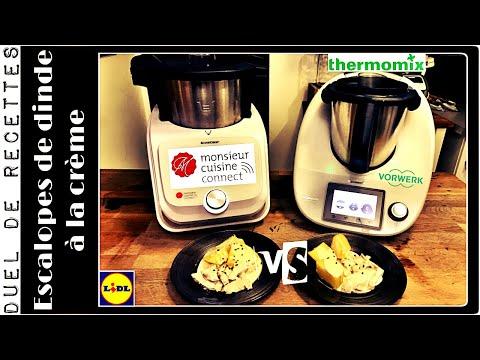 duel-de-recettes-:-escalopes-de-dinde-a-la-crÈme-(monsieur-cuisine-connect-vs-thermomix-)