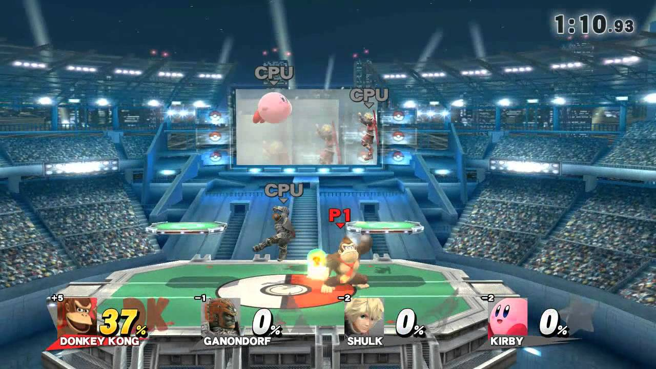 wii u super smash bros for wii u pokemon stadium 2