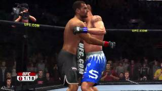 UFC 2009 PS3 Gameplay