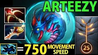 Arteezy Dota2 7.00 [Weaver] No Mercy 36 Kills with Divine Rapier ▻ ...