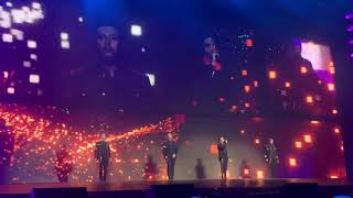 Westlife opening Glasgow SSE hydro Arena - Hello my love Video