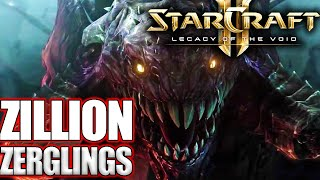Can you Survive a Zillion Zerglings in Starcraft 2 Arcade?