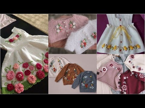 Very Very Beautiful Top 60 Best Of Best Hand Made Crochet Wool Top For Baby Girls