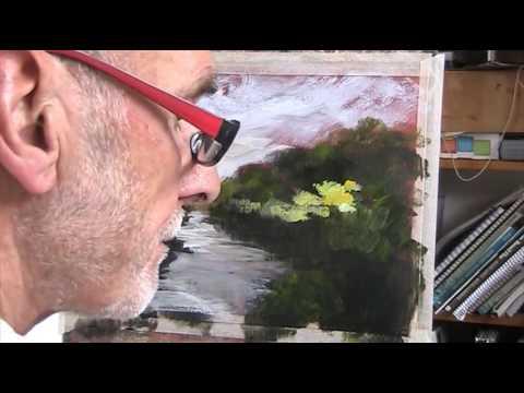 River Wandle abstract