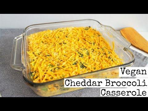 Vegan Cheddar and Broccoli || Casserole Recipe