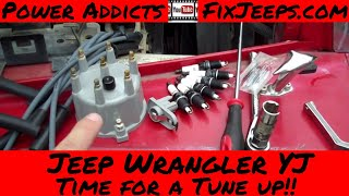1991 Jeep Wrangler Yj Tune Up