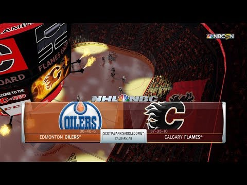 NHL 19 Gameplay - Edmonton Oilers vs Calgary Flames