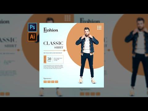 (Speedart) Creative Fashion Poster design #photoshop #Illustrator