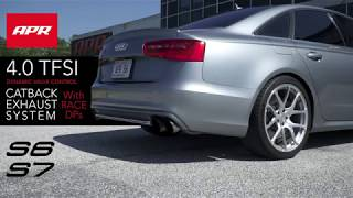 APR Catback Exhaust System with APR Race DPs for the Audi C7/C7.5 S6/S7 4.0 TFSI