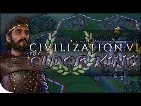 The Kingdom of Persia   The Elder King 4   Civilization VI   Fractal King