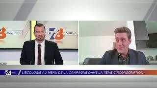 Yvelines | 7/8 Le Journal (extrait) – J. Bizet, candidat France Ecologie à la 11e circo. Yvelines