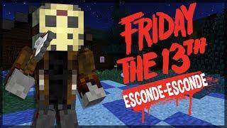 Minecraft: SÉRIE NOVA? ESCONDE-ESCONDE DO SEXTA FEIRA 13! (FT. FAMILIA CRAFT) thumbnail
