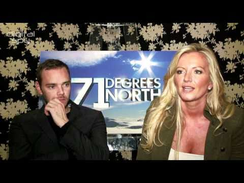 Joe Absolom and Michelle Mone chat '71 Degrees North'