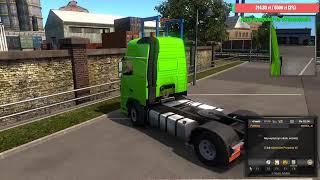 Nocne truckersy po Europie
