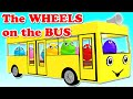 Wheels On The Bus Part 1 Nursery Rhymes Songs for Children