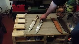 Cuchillo SERAPHIM FALLS fabricado por el artesano Eladio Renan Betancurt