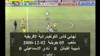 Finale coupe de la CAF 2000 : JSKabylie - Ismaïliya d'Egypte