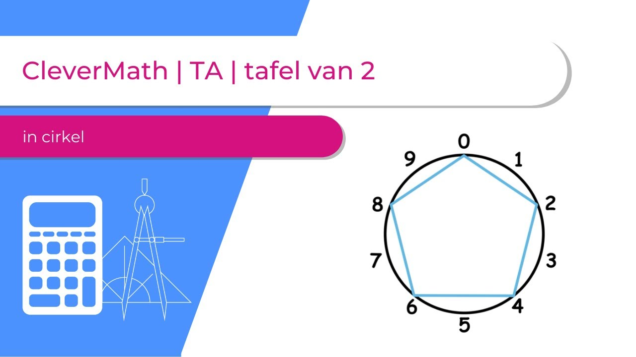 Tafel Van 2.Clevermath Ta Tafel Van 2 In Cirkel Youtube
