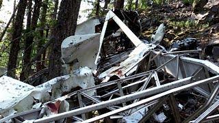 Lost Plane Crash Found in the Mountains. Adventure #35
