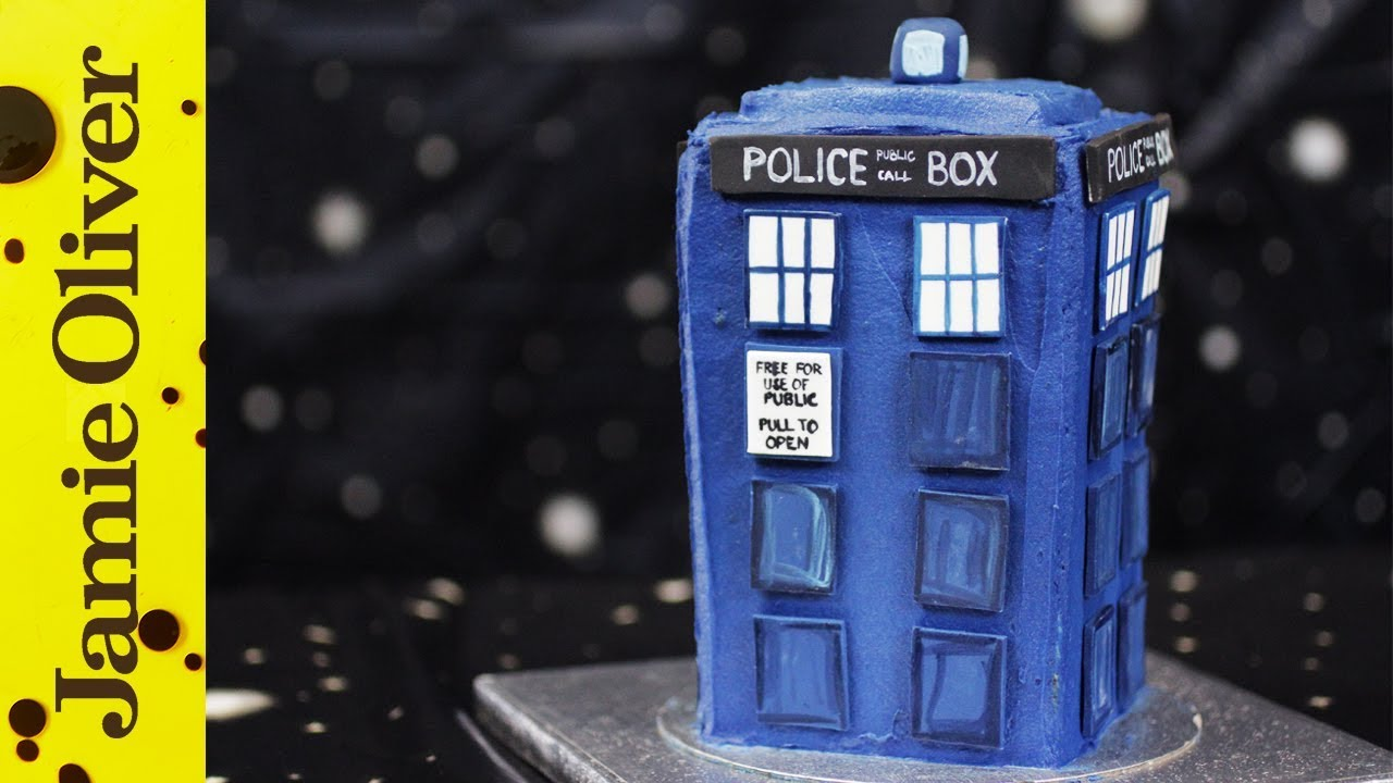 Doctor Who TARDIS Cake Cupcake Jemma YouTube