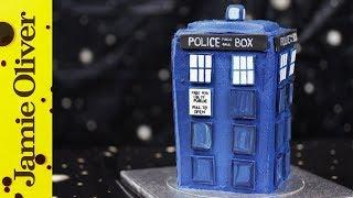 Doctor Who TARDIS Cake | Cupcake Jemma