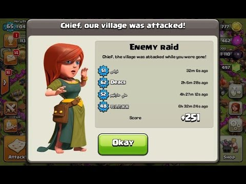Clash of Clans: Town Hall 4 Defense (CoC TH4 Trophy Base Layout) Defense Strategi