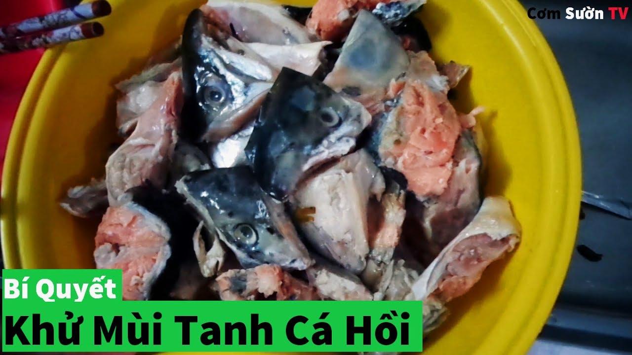 """""""Bí Quyết"""" Làm Cá Hồi Không Còn Mùi Tanh║CĂN BẾP MINI"""