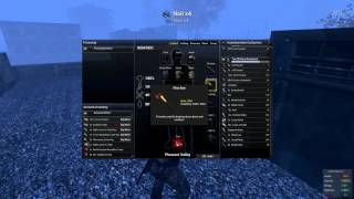 H1Z1 Just Survive PVP - Building a Shack Metal Door and Storage container