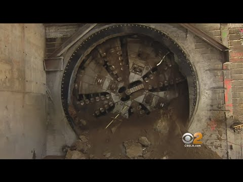 $2 Billion Rail Line Tunneling Under LA Will Lead Right To Airport