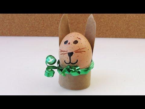 Osterhasen Basteln Für Kinder | DIY Osterhasen | Bastelideen Für Kinder