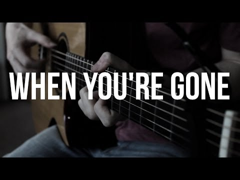 When You're Gone - Avril Lavigne - Solo Acoustic Guitar Cover by James Bartholomew