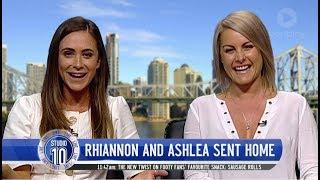 Rhiannon & Ashlea Reflect On The Bachelor   Studio 10