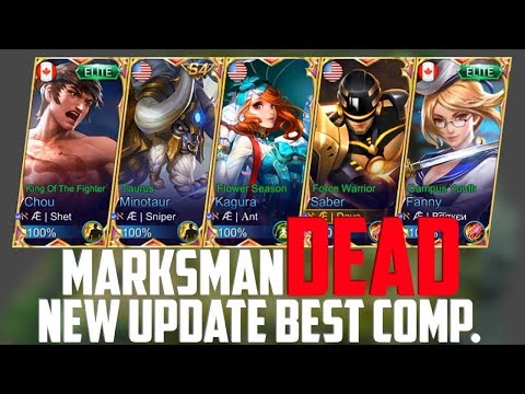 MARKSMAN is DEAD! NEW UPDATE BEST TEAM COMPOSITION | MOBILE LEGENDS AE FULL SQUAD GAMEPLAY