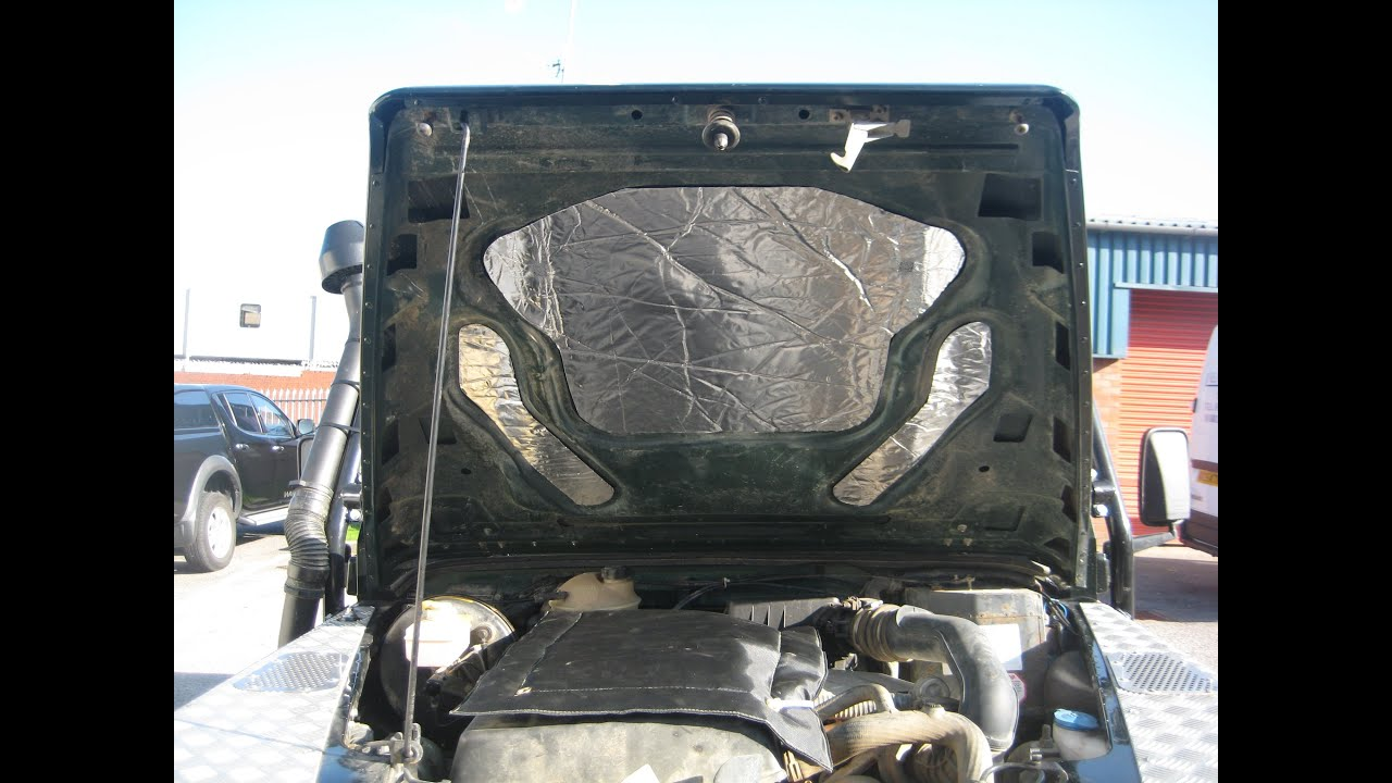 How To Fit A Noisekiller Land Rover Engine Blanket And