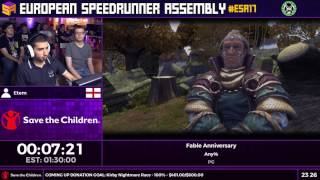 Video #ESA17 Speedruns - Fable Anniversary [Any%] by Etem download MP3, 3GP, MP4, WEBM, AVI, FLV Maret 2018
