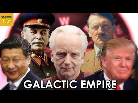 Where is the Galactic Empire on the Political Compass?