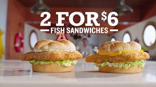 Arby's: 2 for $6 Fish | All Of The Facts
