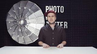Falcon Eyes SoftLight Octa 100 BW: обзор быстроскладной универсальной портретной тарелки.