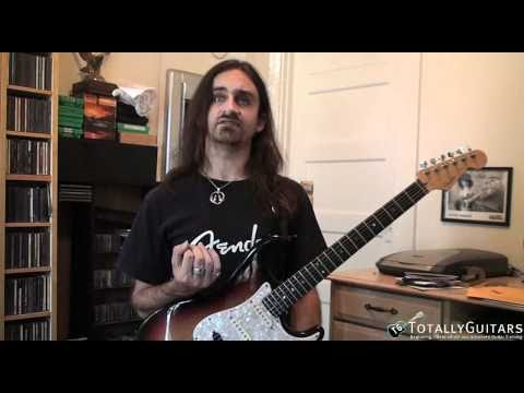 Beverly Hills Electric Guitar Lesson - Weezer - YouTube